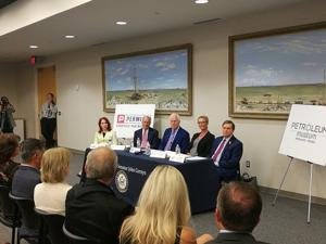 PSP round table with US Sen John Cornyn and TxDOT Comm. Chairman Bruce Bugg Jr