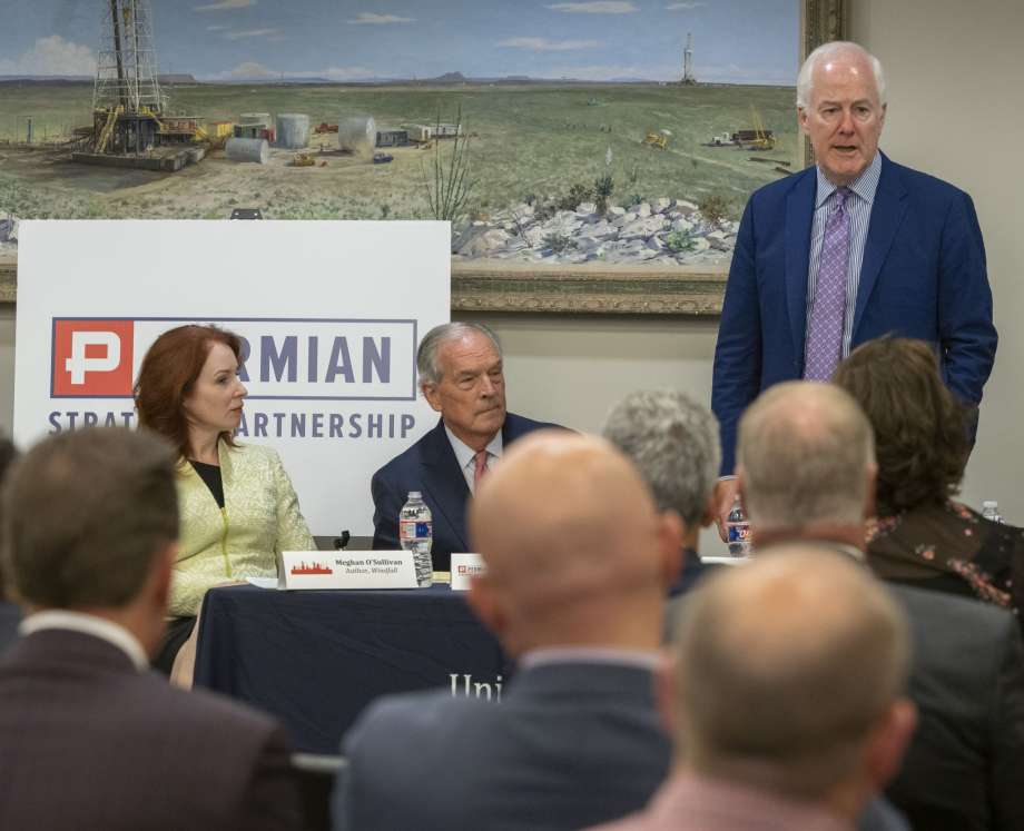 Senator John Cornyn speaks at round table discussion
